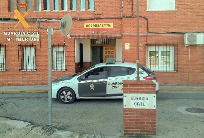 Detenido un hombre por 12 delitos cometidos en la localidad de Villacañas