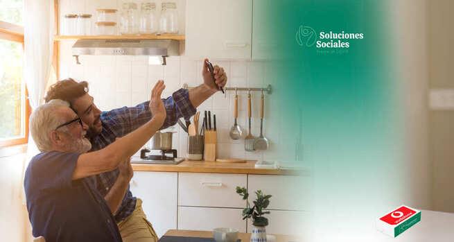 Fundación Eurocaja Rural y Vodafone benefician a más de 1.800 personas facilitando la labor asistencial online a los profesionales del tercer sector