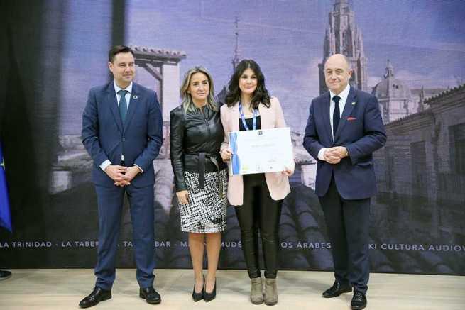 La alcaldesa entrega en Fitur las distinciones del SICTED a las empresas de Toledo que mejoran en calidad turística