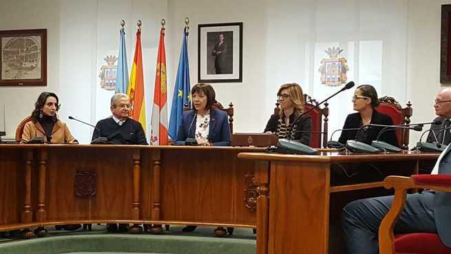 La alcaldesa de Alcázar presente en Aranda de Duero  en la Gala Ciudad Europea del Vino 2020