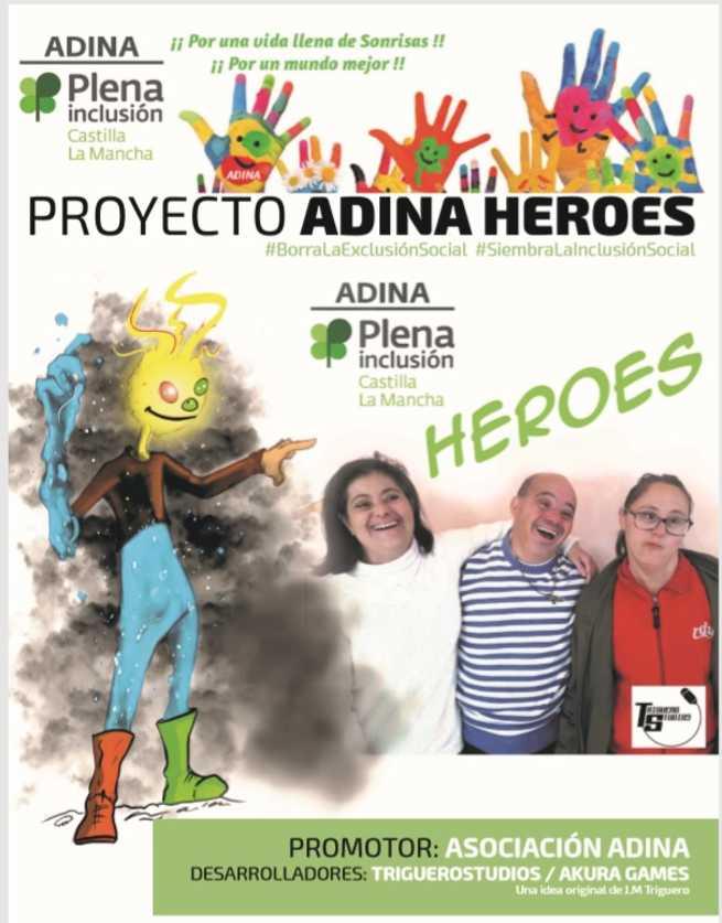 Se crea en Las Pedroñeras el primer videojuego del mundo realizado con personas con discapacidad intelectual