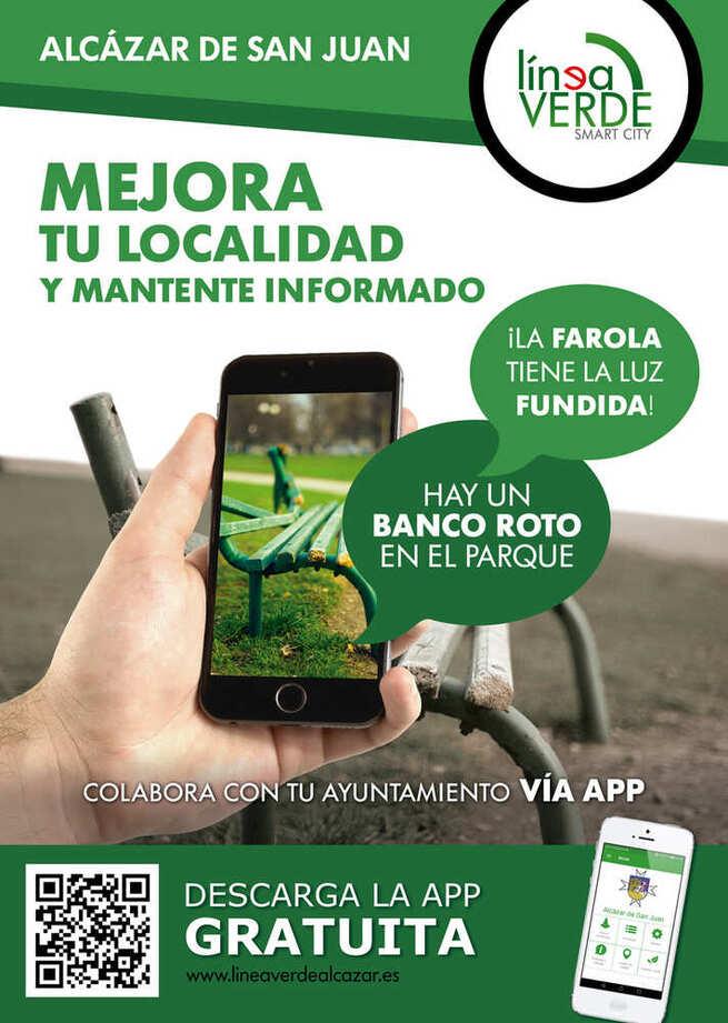 El 70% de las incidencias comunicadas a través del Servicio Línea Verde de Alcázar han sido ya solucionadas