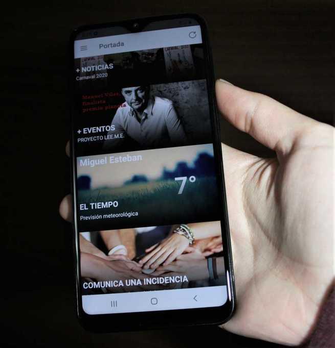 Miguel Esteban ya cuenta con una app municipal para el móvil