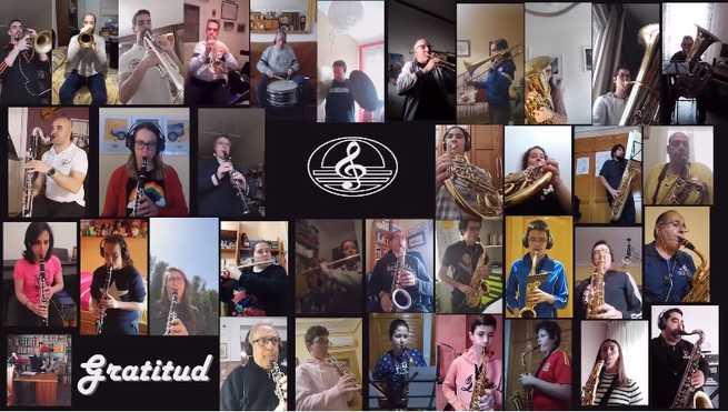 Agradecimiento musical al pueblo de Manzanares
