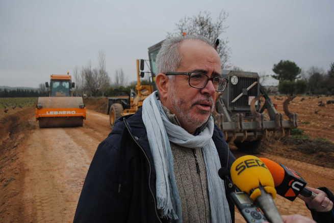 Agricultura arregló durante el pasado año 56 kilómetros de caminos rurales en Valdepeñas