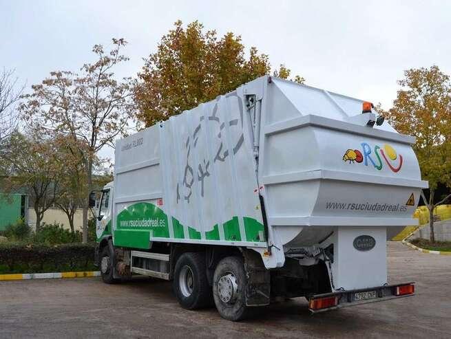 Este viernes 10 de abril no habrá recogida de basuras en Ciudad Real por los festivos de la Semana Santa