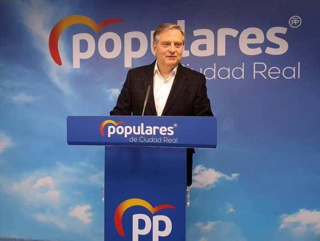 """Cañizares: """" Con el pacto con Bildu, los diputados socialistas de Ciudad Real demuestran que prefieren mantenerse en el poder que defender a España y luchar contra la recesión económica"""""""
