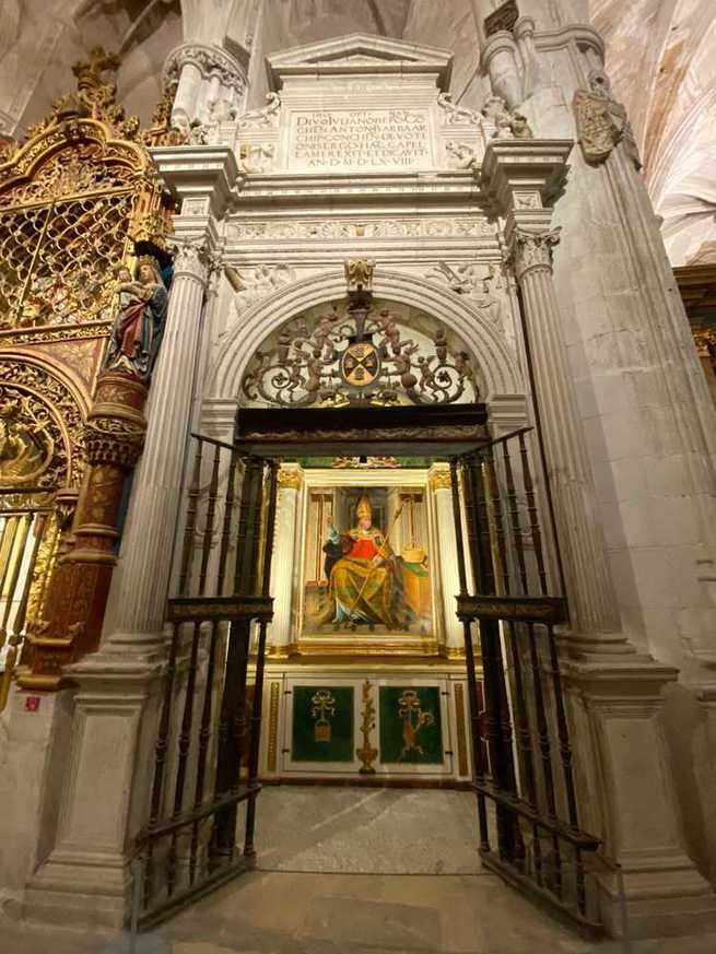 Ya se puede admirar en la Catedral de Cuenca la restauración de la Capilla de San Julián del Arcipreste Barba