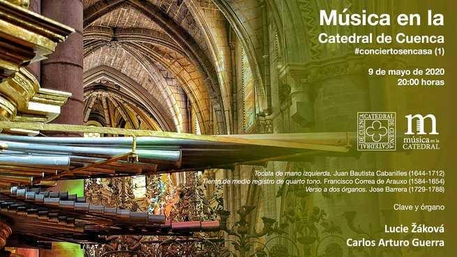 Inicia en Cuenca la X Edición de'Música en la Catedral'