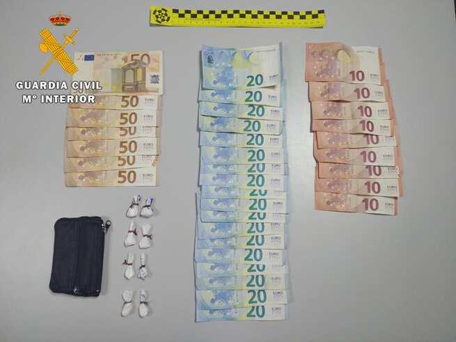 Detenidas dos personas en Consuegra por tráfico de drogas