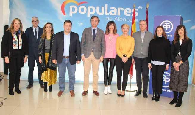 González Terol y Serrano aseguran que el PP seguirá exigiendo al Gobierno de Sánchez las infraestructuras necesarias para Albacete