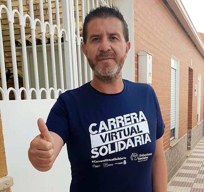 Santi Cabañero anima a la población a sumarse a la cita que la provincia de Albacete tiene con las Carreras Virtuales Solidarias impulsadas por la Fundación Eurocaja Rural