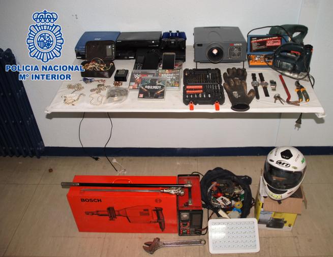 Detenidos los autores de cinco robos con fuerza en viviendas de Alcázar de San Juan