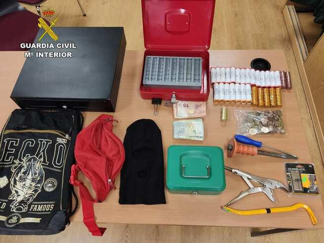 Detenidas dos personas por un robo en una gasolinera de Marchamalo