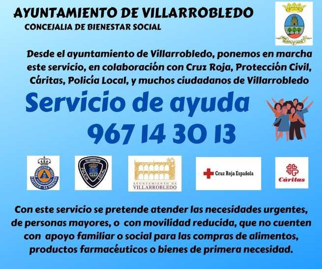 El servicio de voluntariado del Ayuntamiento de Villarrobledo permite a una familia de Villarrobledo acudir a sus citas médicas de urgencia en Madrid