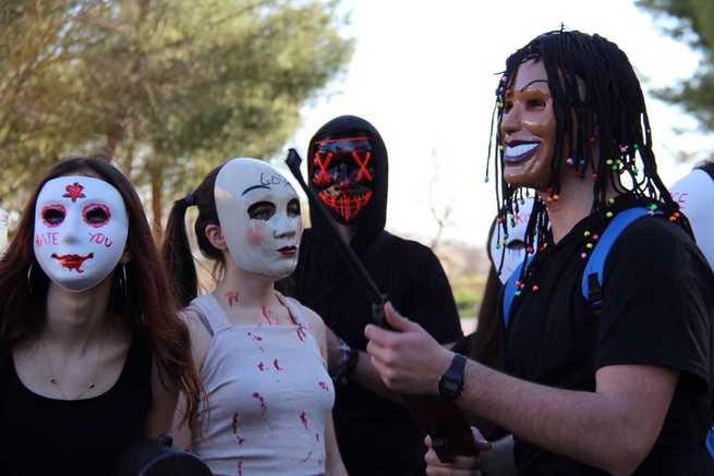 Cinco Casas vive su Carnaval que en 2020 ha contado con mayor participación en el desfile