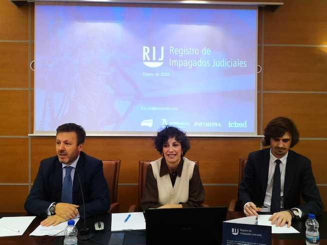 Presentado el Registro de Impagados Judiciales en el Ilustre Colegio de Abogados de Toledo
