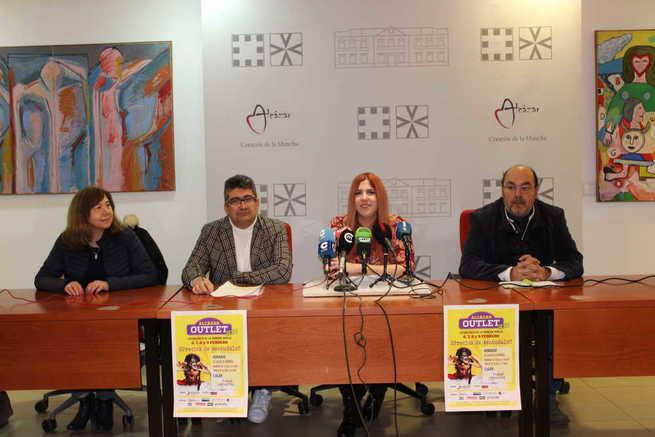 El próximo jueves se inaugura Alcázar Outlet organizado por ASECEM y con la colaboración del ayuntamiento