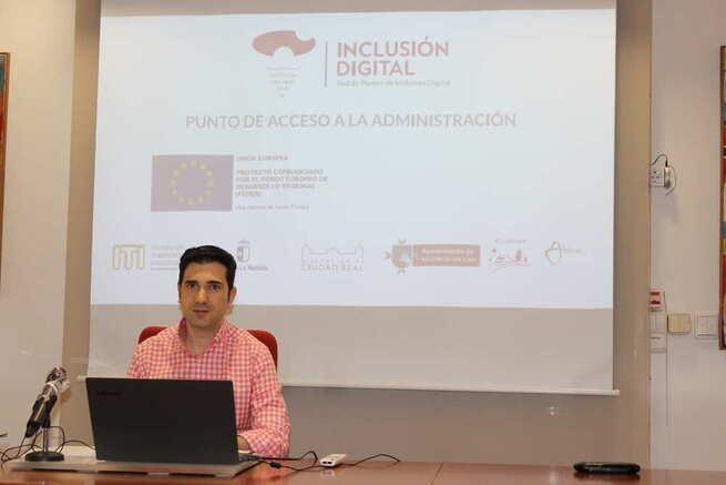 El Ayuntamiento de Alcázar presenta la Red de Puntos de Inclusión Digital