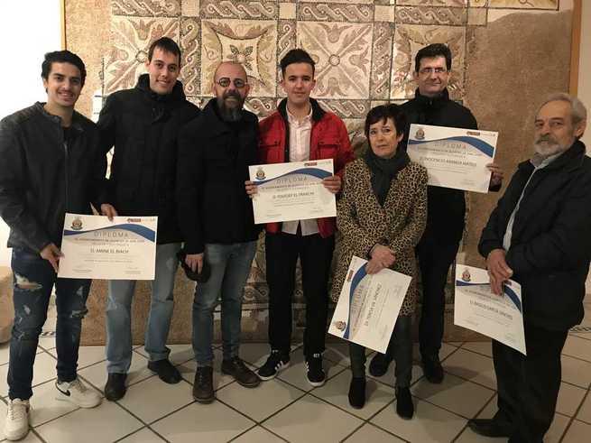 Protección Civil presenta su memoria de servicio de 2019 y entrega los diplomas a los nuevos voluntarios