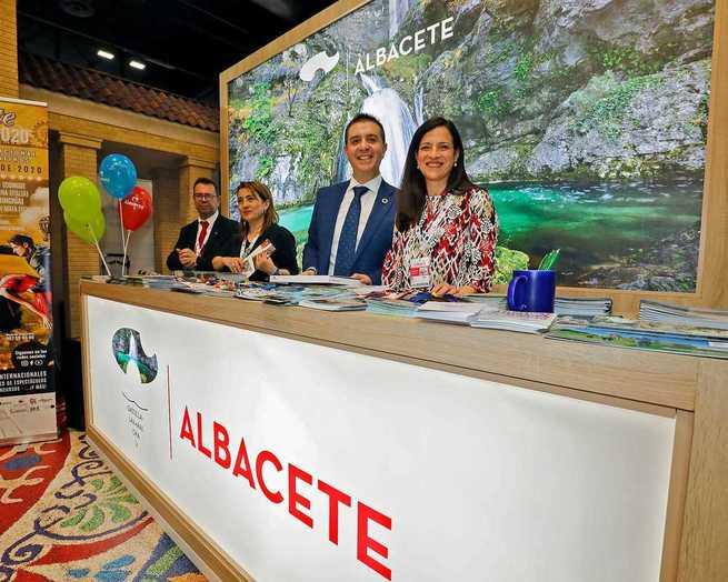 Unas 150000 personas han pasado por el stand de la provincia de Albacete en FITUR