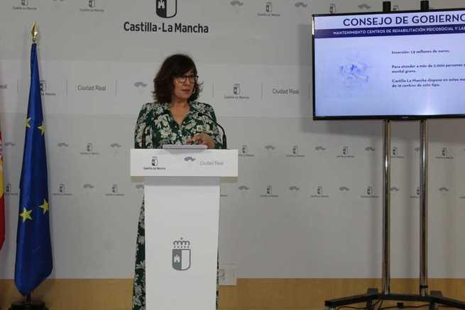El Gobierno de Castilla-La Mancha destinará 1,9 millones de euros al mantenimiento de los centros de rehabilitación psicosocial y laboral