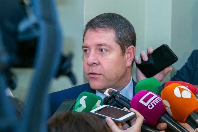 """García-Page apuesta por """"consolidar una posición de cohesión"""" en las aportaciones de la Unión Europea a España y Castilla-La Mancha"""