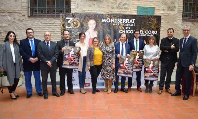 Presentado el concierto benéfico a favor de AFANION el 13 de marzo en Toledo