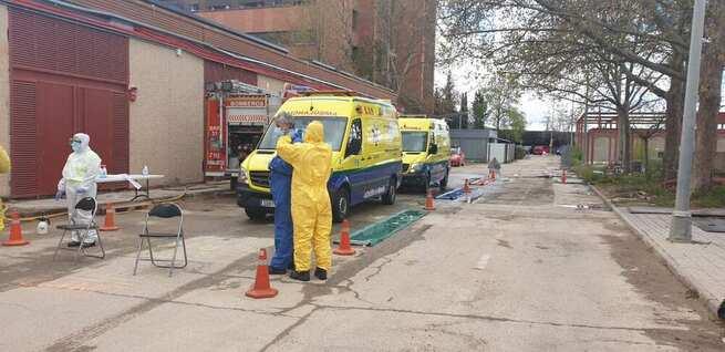 La incidencia del Covid-19 en el servicio de transporte sanitario de Castilla-La Mancha ha sido similar a la de la población general