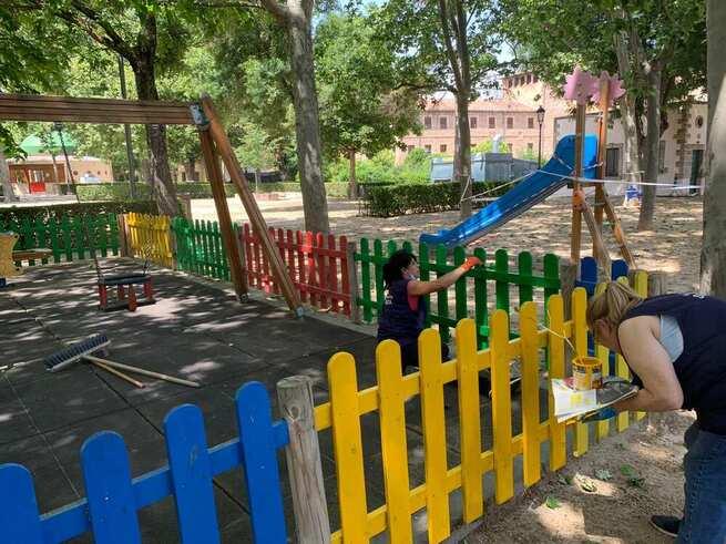 Reabren los parques infantiles de Sigüenza