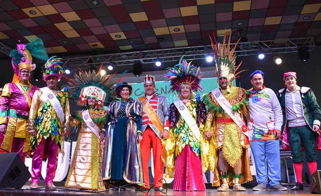 María del Carmen Céspedes y Manuel González proclamados Máscaras Mayores 2020 del Carnaval de Miguelturra