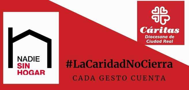Los centros de inclusión de Cáritas Diocesana de Ciudad Real continúan con su labor