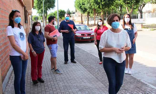 Un barrio de La Solana atemorizado por un violento vecino. '¡Voy a matar a vuestros hijos!'