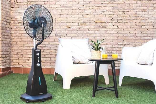 Los ventiladores de agua. La mejor opción para un hogar fresco y confortable
