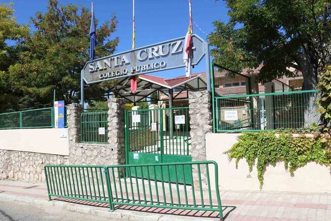 Terminan las obras en el Colegio Público Santa Cruz de Albalate de Zorita