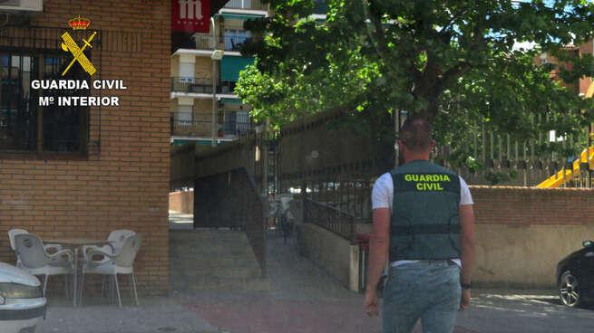 La Guardia Civil detiene a un hombre por agredir a otro con arma blanca en Argés