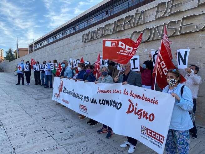CCOO exige a la JCCM mayor financiación de las plazas públicas y mejoras de ratios en las Residencias de Mayores de CLM