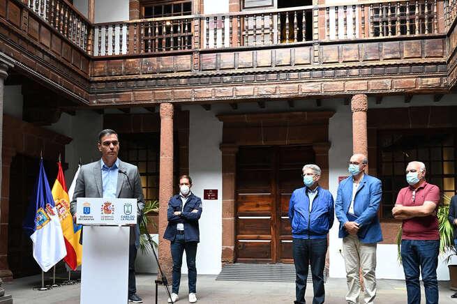 Anunciado un Plan Especial para la Reconstrucción de La Palma para combatir la emergencia volcánica en la isla