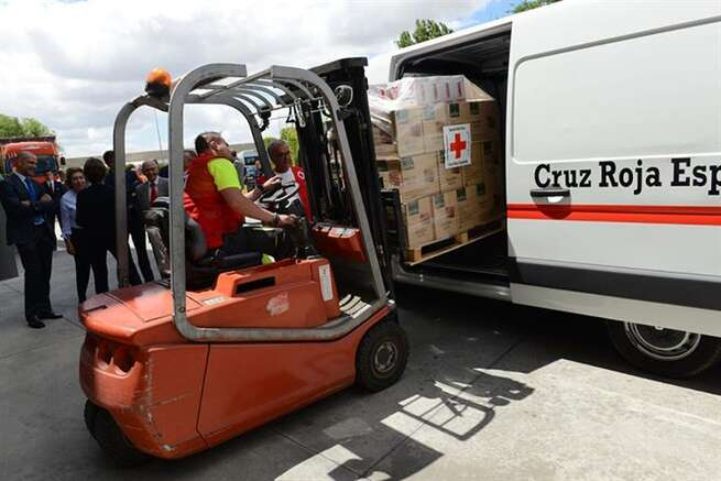 El Gobierno distribuye más de 40 millones de kilos de alimentos del programa europeo para ayudar a las personas desfavorecidas