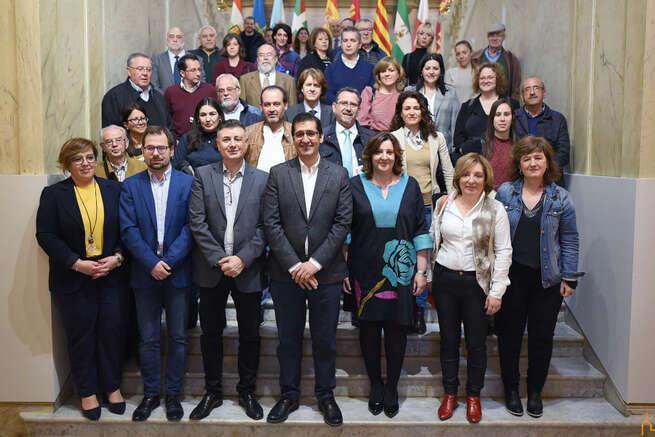 Las asociaciones realizan 104 contratos con el Plan de Empleo de la Junta y la Diputación asume los gastos de la seguridad social