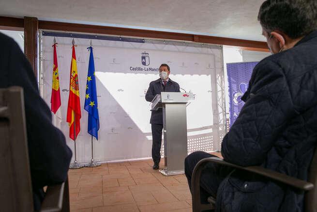 García-Page avanza una inversión extraordinaria de 37 millones de euros para fortalecer la red de recursos residenciales de Castilla-La Mancha