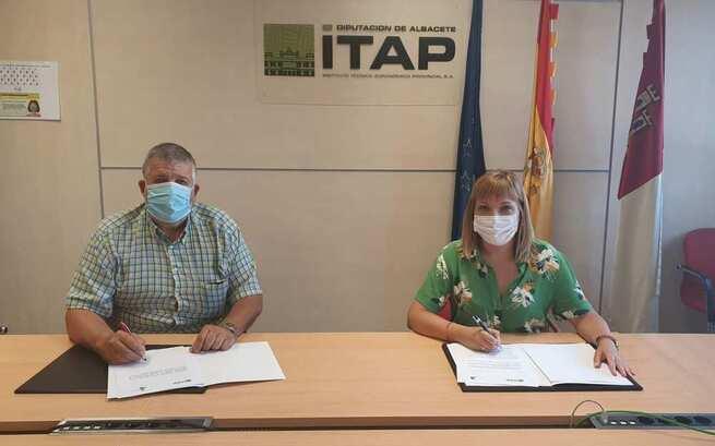El ITAP suscribe sendos convenios de colaboración con UPA y ASAJA para la promoción de actividades del sector agrario de la provincia de Albacete