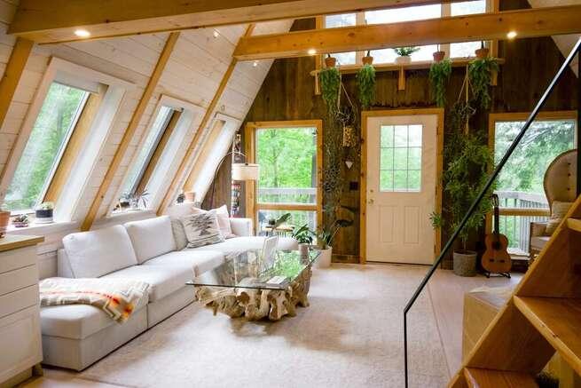 ¿Cómo lograr que tu casa de madera se vea más espaciosa?