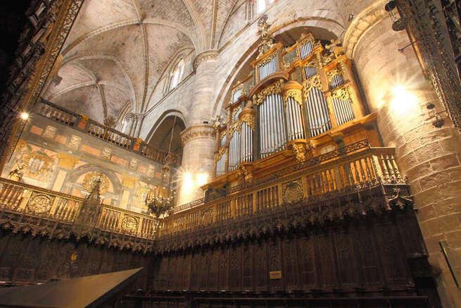 El órgano, alma sonora de toda la catedral