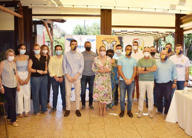 El Ayuntamiento de Ciudad Real apoya al Balonmano Caserío Ciudad Real en su X aniversario y en su proyecto de futuro