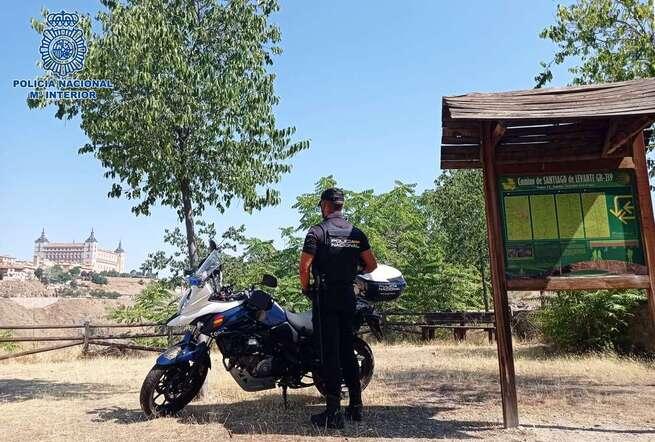 La Policía Nacional ya dispone de centros oficiales de sellado de la credencial de peregrino en Albacete, Guadalajara y Toledo