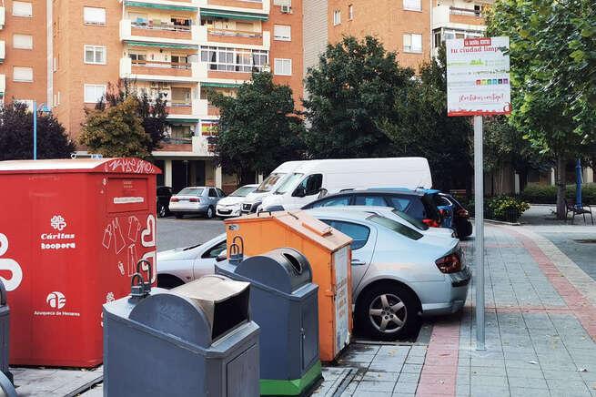 Azuqueca lanza la campaña 'La basura dentro, tu ciudad limpia'
