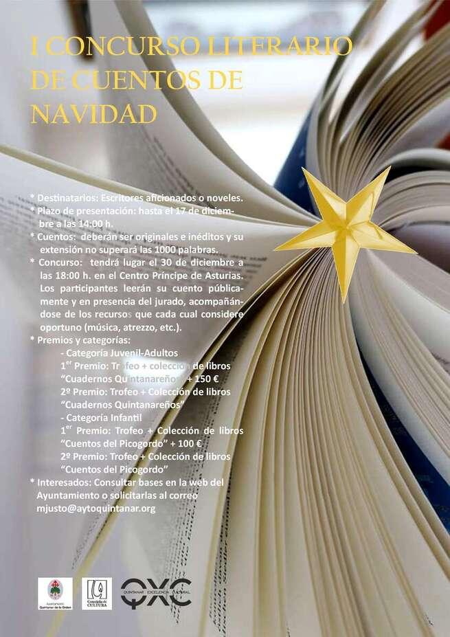 Convocado el I Concurso Literario de Cuentos de Navidad en Quintanar