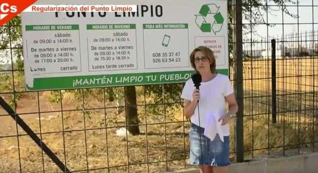 Ciudadanos La Solana vuelve a pedir que se cumpla el Plan de Gestión de Residuos Urbanos en el Punto Limpio