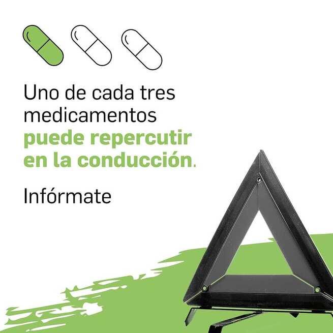 Uno de cada tres medicamentos puede interferir en la capacidad de conducción